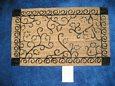 Trellis Design Coir Door Mat